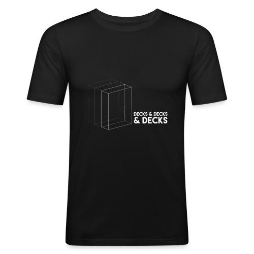 Decks&Decks&Decks - Men's Slim Fit T-Shirt