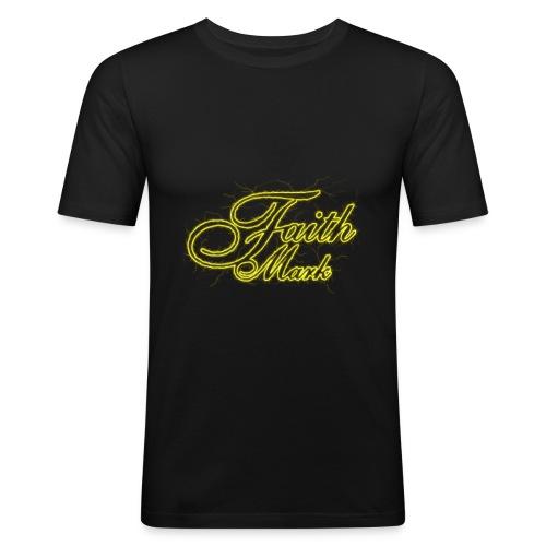 FaithMark-SpreadShirt-Electrical - slim fit T-shirt