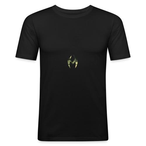 Camo Logo - Men's Slim Fit T-Shirt