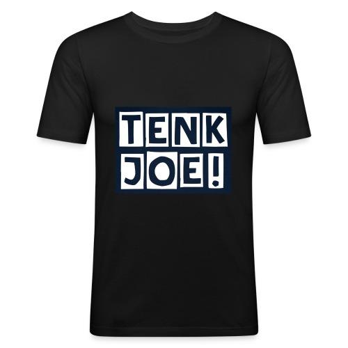 Tenkjoe - T-shirt près du corps Homme