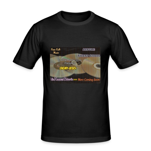 Enemy_Vevo_Picture - Men's Slim Fit T-Shirt