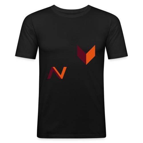 LOGO_FINAL - Camiseta ajustada hombre