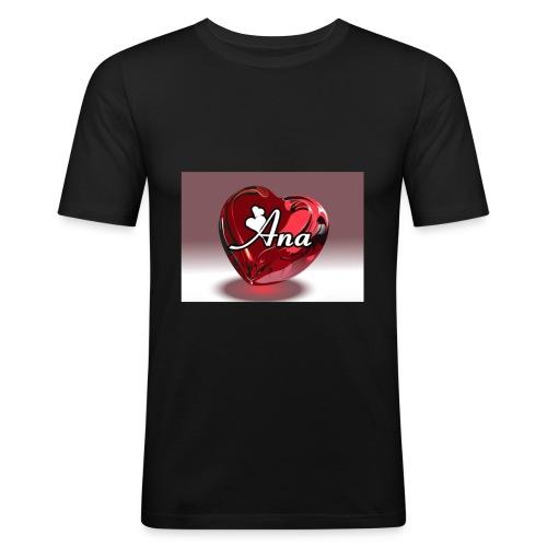 20180611 225217 - slim fit T-shirt