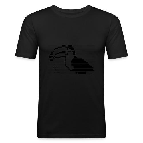 le toucan has arrived - Maglietta aderente da uomo