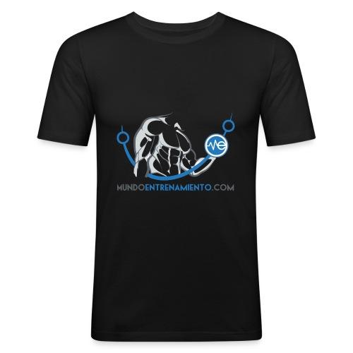 Camiseta de deporte MundoEntrenamiento.com - Camiseta ajustada hombre