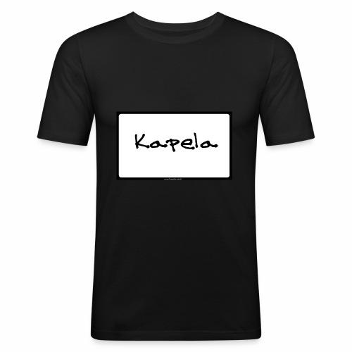 Old Kapela Design - Men's Slim Fit T-Shirt