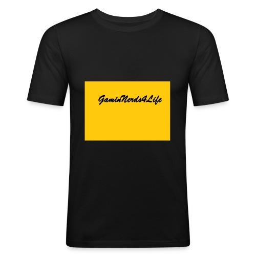 GamingNerds4Life - Slim Fit T-skjorte for menn