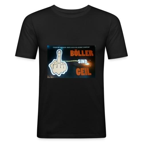 Böller sind Geil - Männer Slim Fit T-Shirt