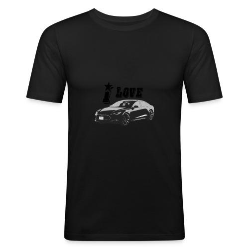 Tesla Model S - slim fit T-shirt