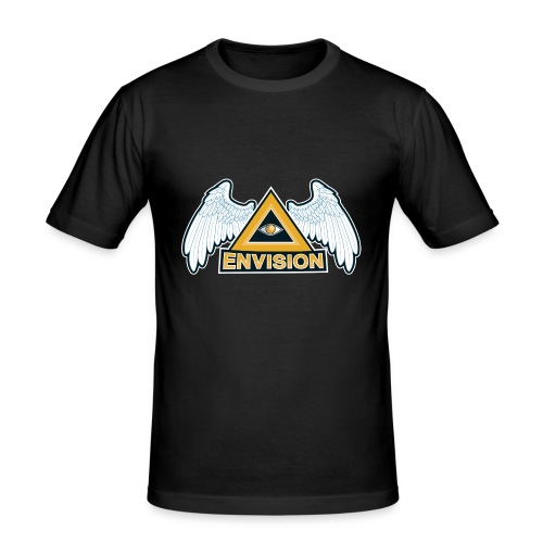 Envision Gaming Mascot - Männer Slim Fit T-Shirt