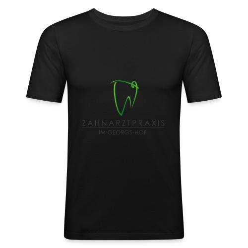 Werbemittel mit Text - Männer Slim Fit T-Shirt