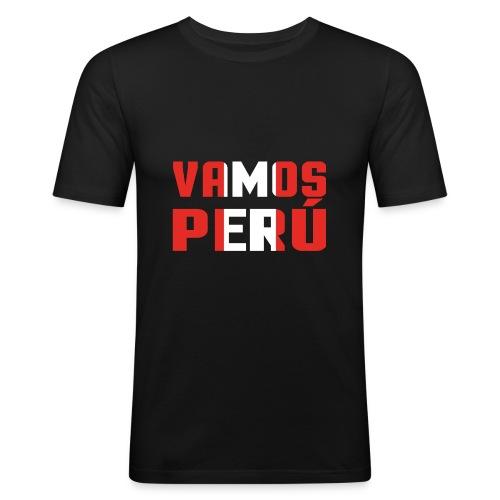 WM Peru - Männer Slim Fit T-Shirt