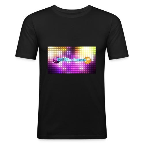 DJ Blackman - Männer Slim Fit T-Shirt