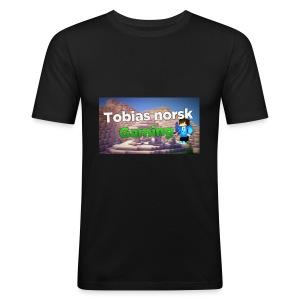 Tobias Norsk Gaming - Slim Fit T-skjorte for menn