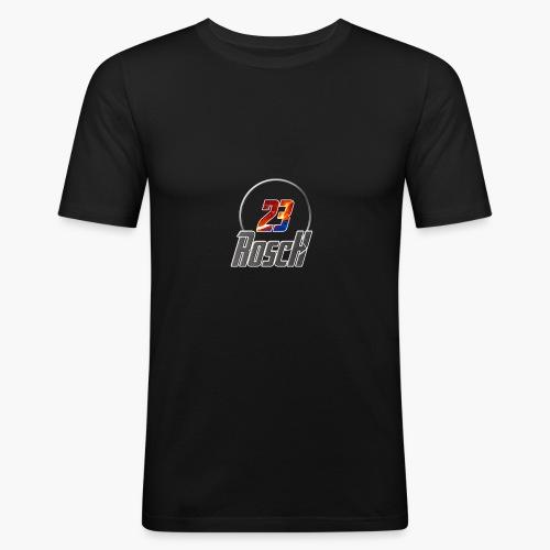 Rosch23 - Männer Slim Fit T-Shirt