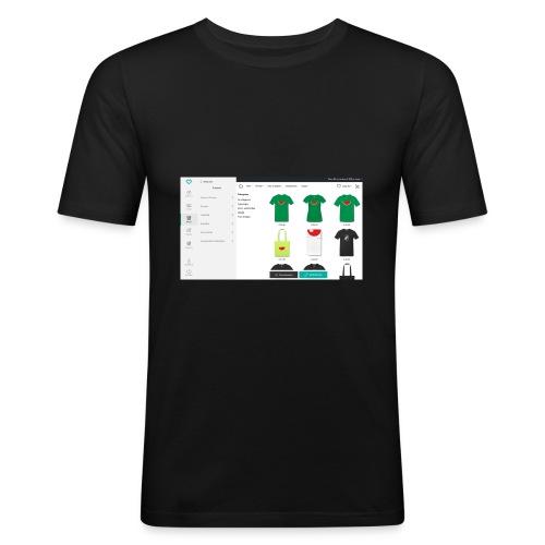 Advanced_settings - Männer Slim Fit T-Shirt