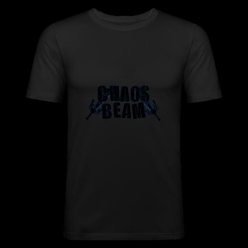 Chaos Beam - Männer Slim Fit T-Shirt