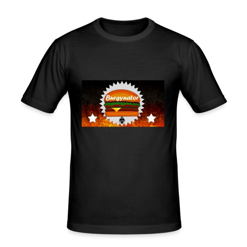 BURGYNATOR - Männer Slim Fit T-Shirt