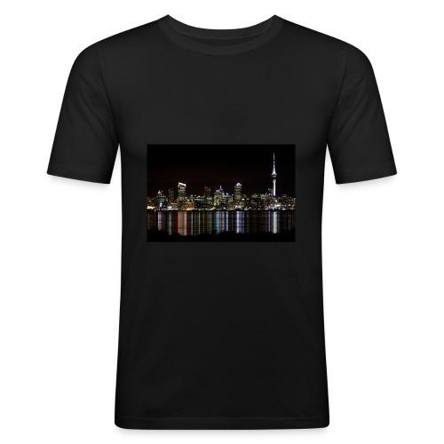 auckland-new-zealand - Slim Fit T-shirt herr