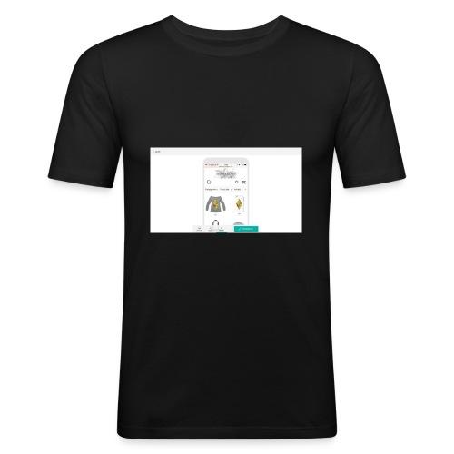 00-1_Preview_Mobile - Männer Slim Fit T-Shirt