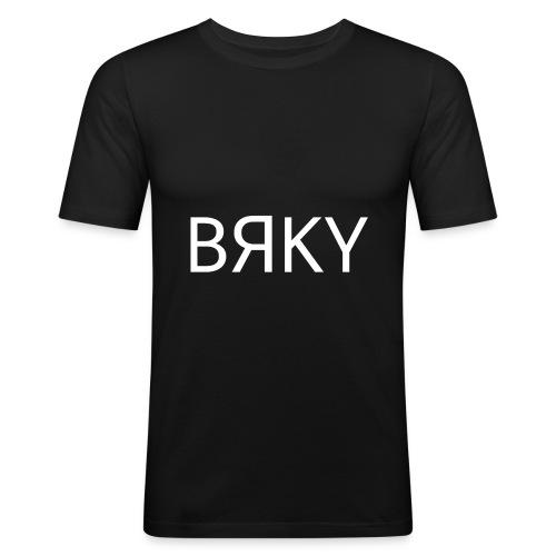 BRKY The Originals 2 - Männer Slim Fit T-Shirt