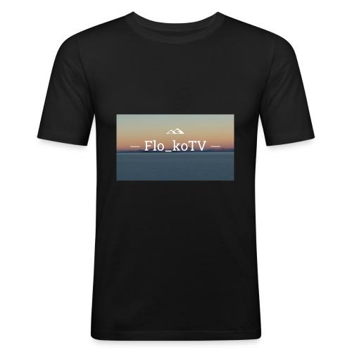 flo_koTV - Männer Slim Fit T-Shirt