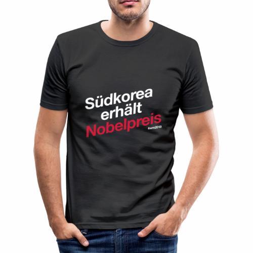 Südkorea erhält Nobelpreis - Männer Slim Fit T-Shirt