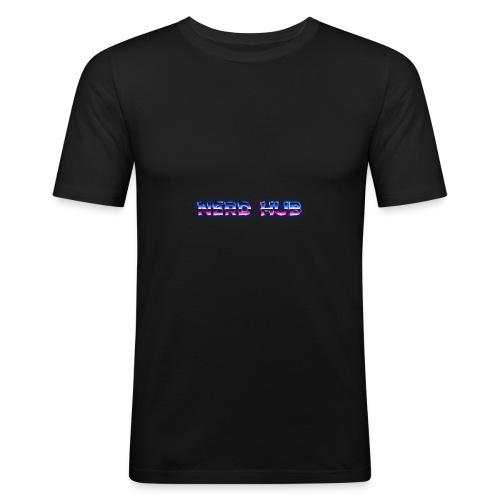 Nerd Hub 80's - Maglietta aderente da uomo