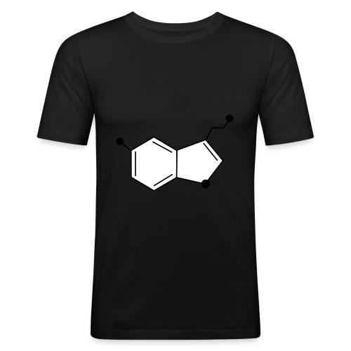 Serotonine - Maglietta aderente da uomo