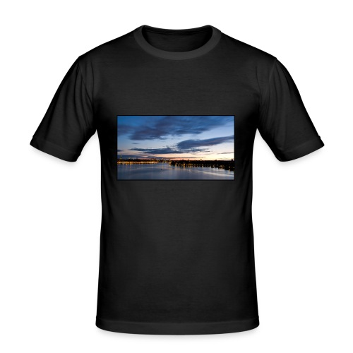 Sommarnatt1 - Slim Fit T-shirt herr