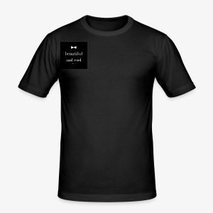 beautiful and cool - Tee shirt près du corps Homme