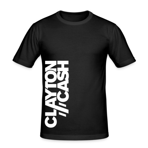 Clayton Cash Black/White Flipped - slim fit T-shirt