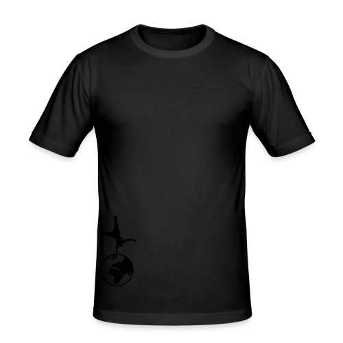 WPF Decent - Männer Slim Fit T-Shirt