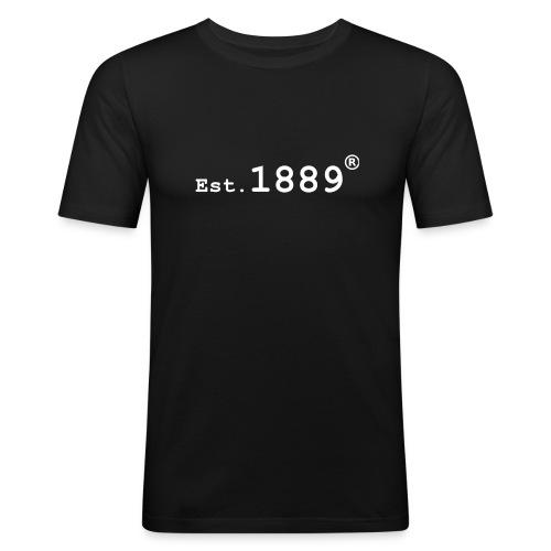 Established 1889 (Large Logo) - Men's Slim Fit T-Shirt