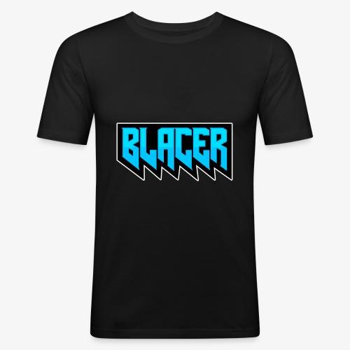 Official logo of Blacer eSport organization - Men's Slim Fit T-Shirt