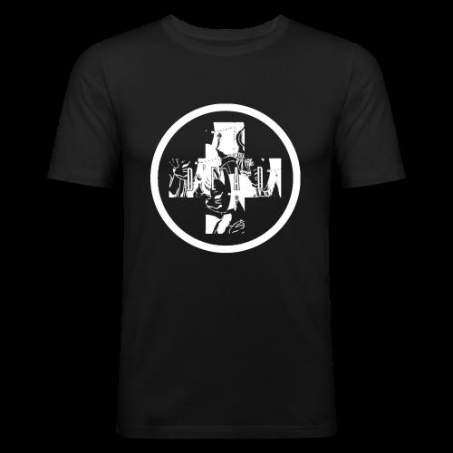DEAD INARI BLACK - Men's Slim Fit T-Shirt