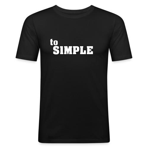 merch4 0 - Männer Slim Fit T-Shirt