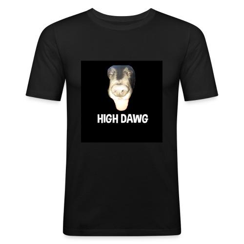 HIGH DAWG - T-Shirt - Slim Fit T-skjorte for menn