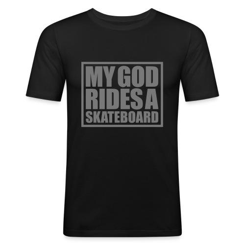 skateboard - T-shirt près du corps Homme