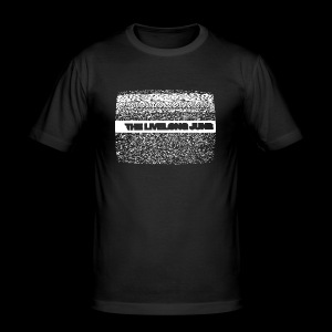 The Livelong June - Logo on static noise/analog TV - Slim Fit T-shirt herr