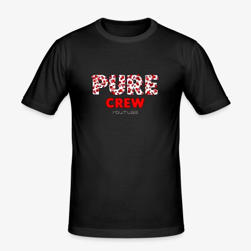 PureCrew-Style Design - Männer Slim Fit T-Shirt