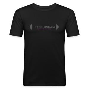 TRAINWITHBARBARA - slim fit T-shirt