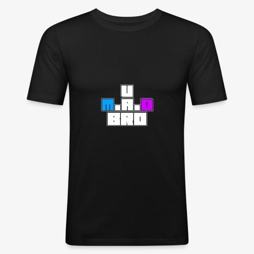 U M.A.D Bro? - Men's Slim Fit T-Shirt