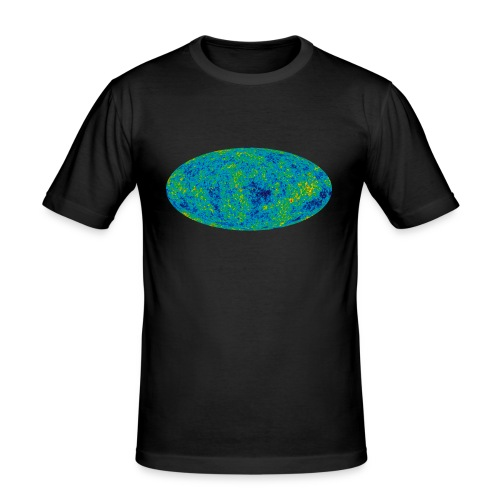 Cosmic Microwave Background - Männer Slim Fit T-Shirt