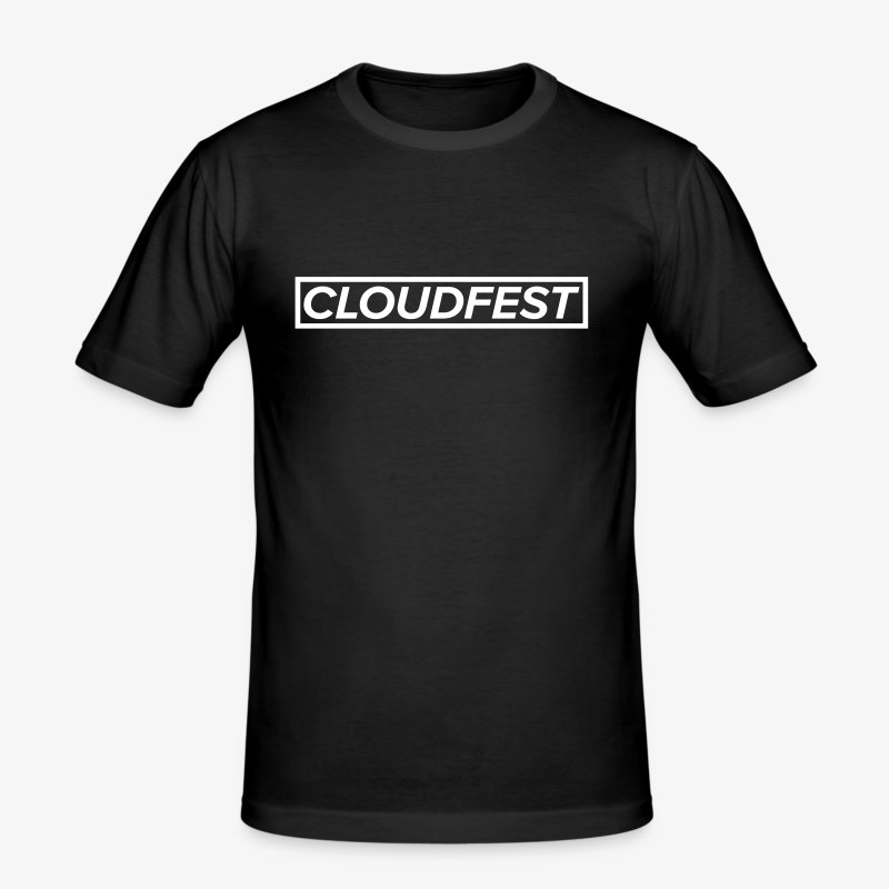 Cloud Festival - Men's Slim Fit T-Shirt
