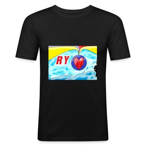 Ry diseños - Camiseta ajustada hombre
