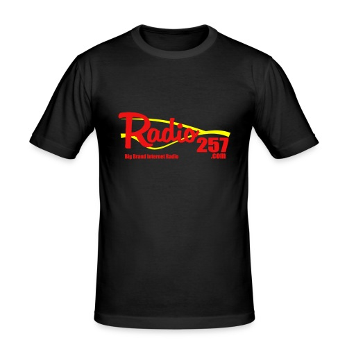 radio257 banner logo web generic - Men's Slim Fit T-Shirt
