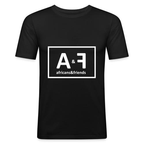 africans friends - Männer Slim Fit T-Shirt