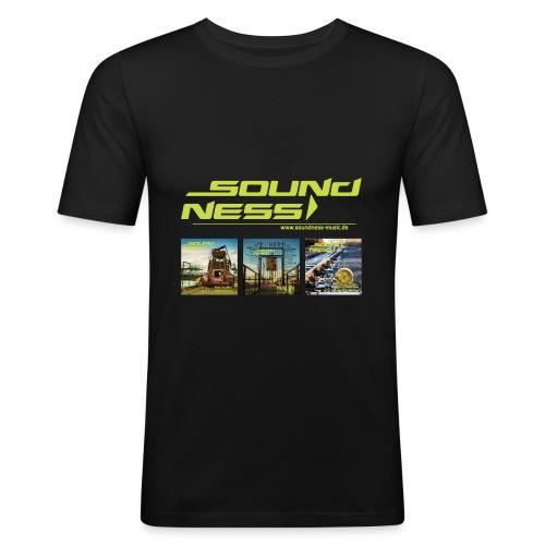 Soundness mit Covers - Männer Slim Fit T-Shirt