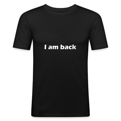 Iamback - Männer Slim Fit T-Shirt